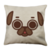 Puglie Icon Poot Face Linen Pillow Case