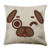 Puglie Winky Poot Face Linen Pillow Case