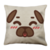 Puglie Blush Poot Face Linen Pillow Case