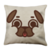 Puglie Cheek Puff Poot Face Linen Pillow Case