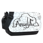 Anxiety Fox Toss Print Sublimated Flap