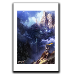 Hidden Fortress Art Print