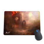 Burning City Concept Mousepad