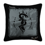 Assassin Emblem White Pillow Case