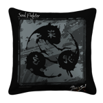 Soul Fighter Emblem White Pillow Case