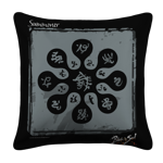 Summoner Emblem White Pillow Case