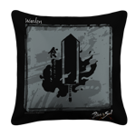 Warden Emblem White Pillow Case