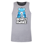 Bearly Awake Men's Tank Top