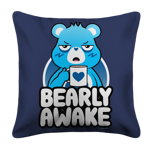 Bearly Awake White Pillow Case