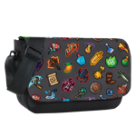 Pixel Inventory Toss Messenger Bag