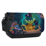 Sunken Treasure Sublimated Messenger Flap
