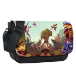 Dueling Fates Sublimated Messenger Flap