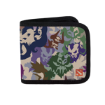 Radiant Camo Canvas Wallet