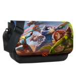 Radiant Side Sublimated Messenger Flap
