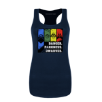 Danger. Darkness. Dwarves. Women's Tank Top