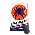 Stay Alert Mousepad