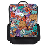 Chibi Monsters Backpack Flap