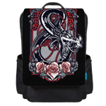 Ampersand Filigree Backpack Flap