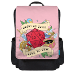Born to Roll Backpack Flap