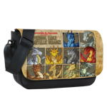 Periodic Table of Dragons Sublimated Messenger Flap