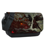 Drizzt vs Demogorgon Sublimated Messenger Flap