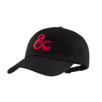 D&D Red Logo Ampersand Dad Cap