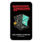 Dungeons and Dragons Gelatinous Cube Pin