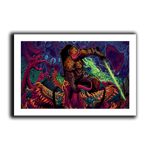Monster Slayer Art Print