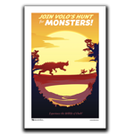 Volos Hunt Travel Poster