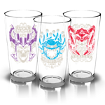 Dungeons and Dragons Core Rulebook Pint Glasses