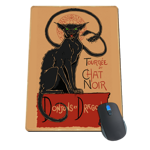 Displacer Noir Mousepad