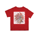 School Book D&D Toddler Tee