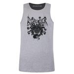 Beholder Metal Men's Tank Top - Black Print