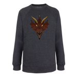 Chromatic Red Dragon Pullover Sweatshirt