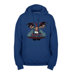 The Dragon, the Dungeon, and the Die Pullover Hoodie