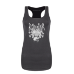 Beholder Metal Women's Tank Top - Black Print