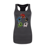 Chromatic Dice Women's Tank Top