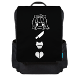 Doki Doki Icons Backpack Flap