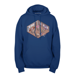 Cute Game Classroom Pullover Hoodie