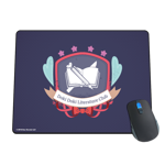 DDLC School Badge Mousepad