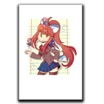 Doki Notebook Art Print