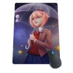 Rainy Day With Sayori Mousepad