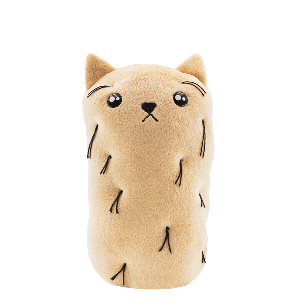 FOR FANS BY FANS:Exploding Kittens Mini Hairy Potato Cat Plush