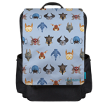 Classic Mounts Patterns Backpack Flap
