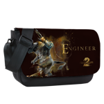 Engineer Sublimated Messenger Flap