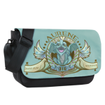 Heckin' Adorable Aurene Sublimated Messenger Flap