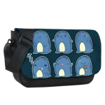 Quaggan Expressions Sublimated Messenger Flap