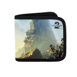 Guild Wars 2 Ascalon Wall Ruins Canvas Wallet