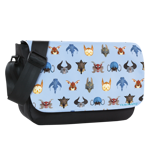 Classic Mounts Patterns Sublimated Messenger Flap