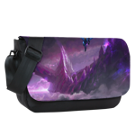 Into The Mists Sublimated Messenger Flap